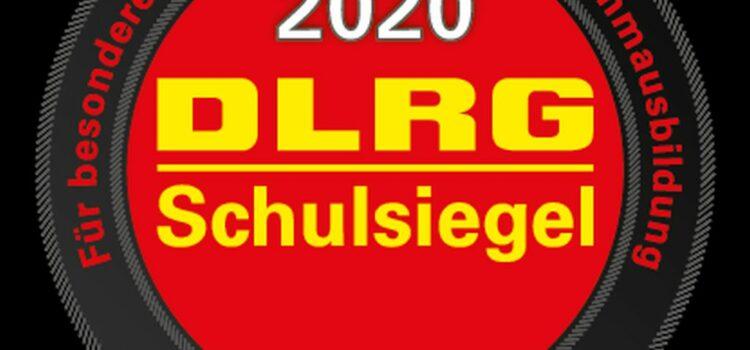 Wir erhielten am 23.07.20 den Förderpreis DLRG und Schule